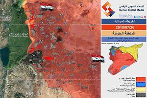 'Hổ Syria' tiên phong đánh chiếm nhiều địa bàn chiến lược, IS bại trận rút về gần Cao nguyên Golan