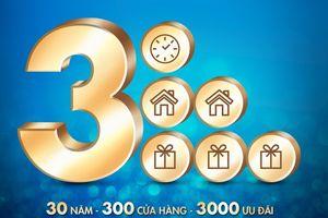 30 năm với 300 cửa hàng: PNJ mở rộng để phục vụ tốt hơn