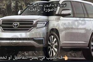 Toyota Land Cruiser 2020 lộ diện hình ảnh đầu tiên