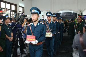 Truy điệu 2 phi công hy sinh trong vụ chiến đấu cơ SU-22U gặp nạn