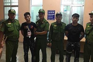 50 thanh niên mang hung khí giải quyết mâu thuẫn, chống trả lực lượng Công an