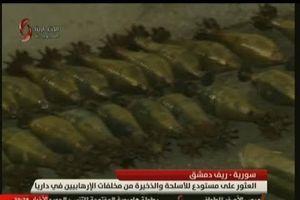 Syria: Bí mật bên trong kho vũ khí khổng lồ mới được phát hiện ở Darayya
