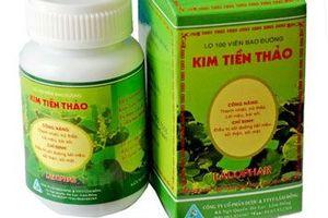 Niêm phong toàn bộ lô thuốc Kim tiền thảo của Công ty cổ phần dược Lâm Đồng