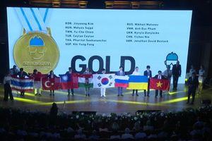 4 học sinh Việt Nam giành huy chương Olympic Hóa học quốc tế 2018