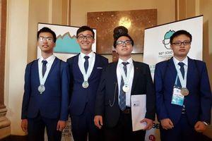 Việt Nam giành 1 huy chương vàng tại Olympic Hóa học quốc tế 2018