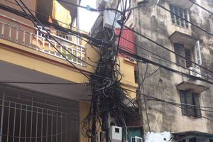 Phúc đáp về bài báo 'Mạng nhện dây điện ở ngõ Đại An, phường Văn Quán, Hà Đông'