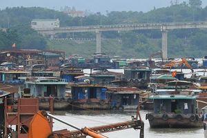 Đoan Hùng - Phú Thọ: Lộn xộn hoạt động bến bãi tàu thuyền trên sông Lô