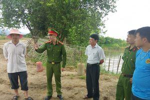 Huyện Điện Biên: Mạnh tay xử lý tình trạng khai thác cát trái phép