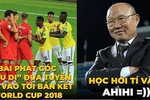 Biếm họa 24h: U23 Việt Nam học tuyệt chiêu của Anh ở World Cup 2018