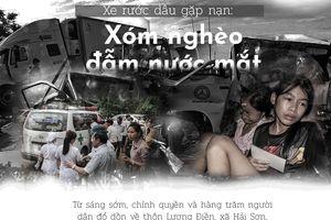 Xe rước dâu gặp nạn: Xóm nghèo ngập nước mắt!