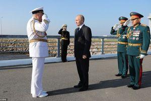 Hải quân Nga trong năm nay có thêm 26 tàu chiến mới