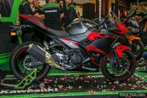 Ảnh chi tiết Kawasaki Ninja 250 2018 giá từ 132 triệu đồng vừa ra mắt