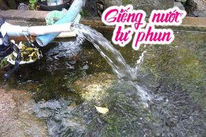 Những giếng nước tự phun trào kỳ lạ ở Đồng Nai