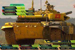 Màn trình diễn đầy 'bỡ ngỡ' của Việt Nam tại cuộc thi Tank Biathlon