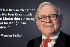 87 tuổi rồi mà Buffett vẫn không ngừng 'đổ tiền' vào khoản đầu tư thiết thực, sinh lời lớn nhưng chẳng mấy ai nghĩ tới này