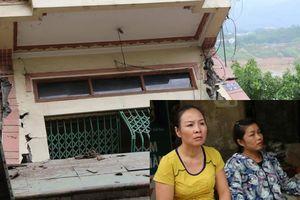 Vụ nhiều nhà dân bị 'nuốt chửng' xuống sông Đà: 'Vết nứt quá nhanh khiến gia đình tôi không kịp chạy'