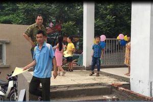 Thanh Xuân – Hà Nội: Trường tiểu học Thanh Xuân Bắc chưa thi công hoàn thiện đã đón học sinh nhập học