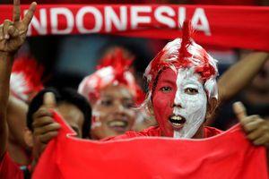 CĐV Indonesia hát chửi đội Malaysia là chó tại giải U16 Đông Nam Á