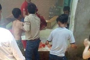 Sau tiếng nổ lớn, 2 em nhỏ bị thương nặng