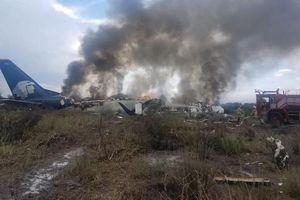 Máy bay chở 101 hành khách rơi khi đang cất cánh ở Mexico