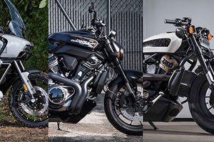 Harley-Davidson giới thiệu loạt xe môtô mới, có cả 250cc