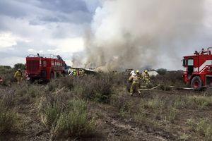 Rơi máy bay tại Mexico, ít nhất 85 người bị thương