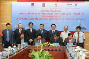 Tập đoàn Dầu khí Việt Nam ký kết hợp đồng phát triển dự án Sao Vàng – Đại Nguyệt