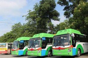 Hai tuyến buýt nhiên liệu sạch chính thức hoạt động tại Hà Nội