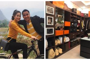 Vợ MC Quyền Linh: Tay chơi hàng hiệu 'ngầm' với bộ sưu tập loạt túi xách giá cả trăm triệu