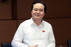 Bộ trưởng Bộ GD &ĐT Phùng Xuân Nhạ nhận trách nhiệm trước Chính phủ