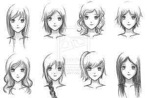 Cách vẽ những kiểu tóc đẹp chỉ đơn giản bằng vài bước