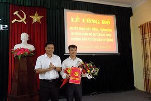 Quỳ Hợp bổ nhiệm Trưởng ban Tuyên giáo huyện ủy