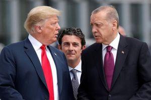 Mỹ chính thức ra lệnh trừng phạt Thổ Nhĩ Kỳ