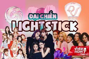BlackPink, Red Velvet hay TWICE: Girlgroup nào từ BIG3 sở hữu lightstick 'chuẩn không cần chỉnh?
