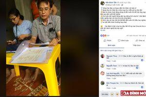 'Siêu thầy lang' Văn Đình Tân livestream chống đối đoàn kiểm tra huyện Thường Tín, kích động cộng đồng mạng
