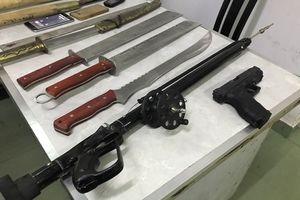 Khánh Hòa: 60 thanh niên mang súng, mã tấu lao vào nhau hỗn chiến