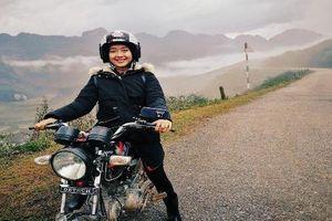 Chết mê với nhan sắc nữ biker 9X làm video nấu ăn ở Tây Bắc