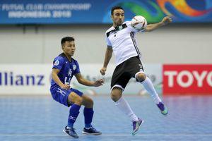 Thua ngược đối thủ Iraq, Thái Sơn Nam gặp khó tại giải vô địch futsal châu Á