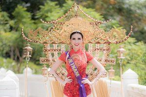 Ngắm quốc phục của các thí sinh Hoa hậu Đại sứ Du lịch Thế giới