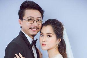 Bộ ảnh cưới lung linh của 'Viên ngọc làng hài' Lâm Vỹ Dạ