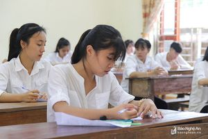 Nghệ An có 63 bài thi được nâng điểm và 32 bài bị hạ điểm sau khi chấm phúc khảo