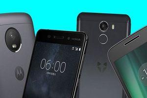 Điện thoại Android màn hình lớn, giá rẻ đáng chú ý năm 2018