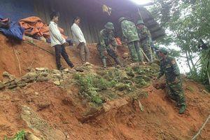 Hiện trường vụ sạt núi ở Lai Châu khiến 6 người chết