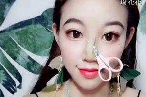 Cô gái Trung Quốc lột xác không thể nhận ra sau khi trang điểm