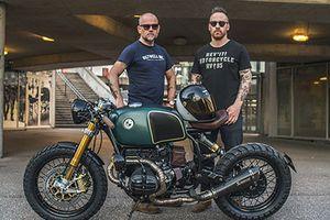 'Soi' bản độ Cafe Racer tuyệt đẹp từ xe môtô BMW R100