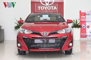Hình ảnh chi tiết Toyota Yaris 2018 giá 650 triệu đồng tại Việt Nam