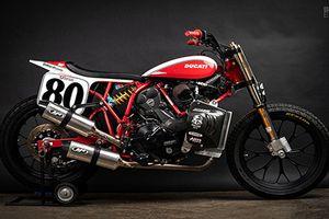 Ngắm 'xế nổ' Flat Tracker Ducati đặc biệt của Lloyd Brothers