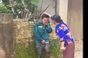 Thanh Hóa: Đối tượng trộm chó bị dân vây bắt, trói bên đường