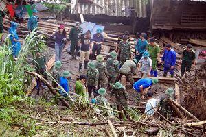 Hình ảnh: Lai Châu dồn toàn lực cho công tác khắc phục sạt lở, lũ quét