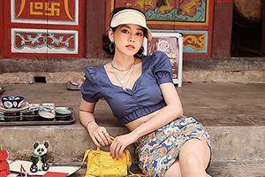 Sao Việt lăng xê trở lại áo sơ mi tay phồng ngày cuối hè